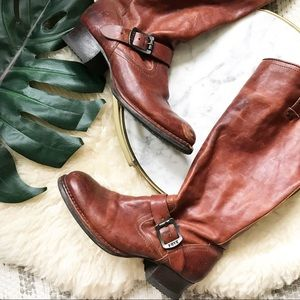 Frye • Martina Engineer Tall Boots